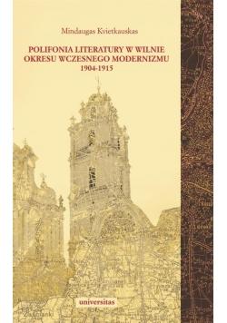 Polifonia literatury w Wilnie okresu wczesnego...