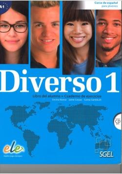 Diverso 1 Podręcznik i ćwiczenia + CD