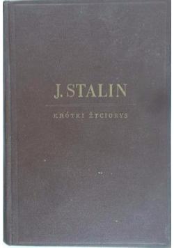 Józef Stalin. Krótki życiorys, 1949 r.