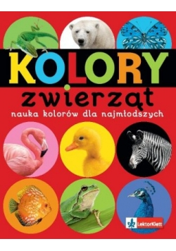 Kolory zwierząt - nauka kolorów dla najmłodszych
