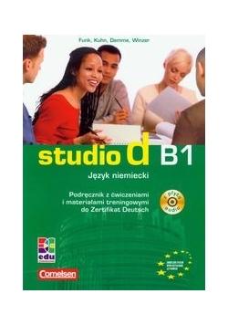 Studio d B1Język niemiecki Podręcznik z ćwiczeniami + CD
