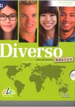 Diverso basico A1+ A2 podręcznik + ćwiczenia + CD