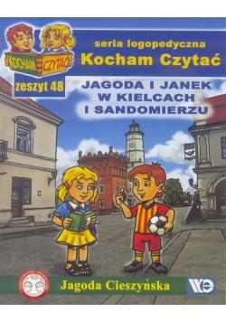 Kocham czytać zeszyt 48. Jagoda i Janek w Kielc...