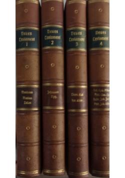 Die drei alteren evangelien, Tom I, II, III, IV, 1923 r.