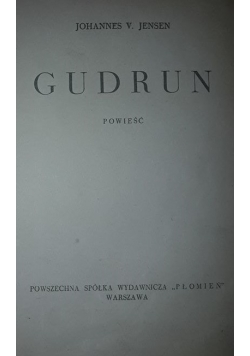 Gudrun, ok. 1938r.