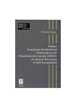 Wpływ zrzeszenia konfederacji przemysłowców i pracodawców Europy