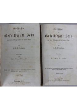 Geschite der Besellschaft Jesu, 1863r. 2 tomy
