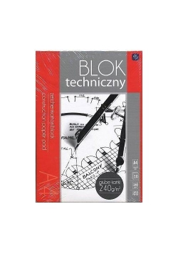 Blok techniczny A3/10K Premium 240g (10szt)