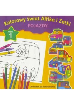 Kolorowy świat Alfika i Zetki cz.1 Pojazdy