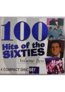 100 Hits of the Sixties, Volume two. 4 płyty DVD