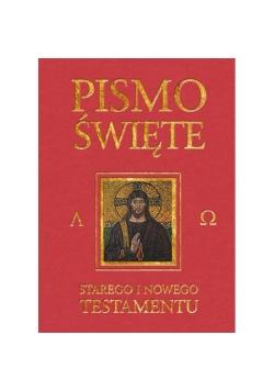 Pismo Święte ST i NT bordo z paginatorami