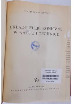 Układy elektroniczne w nauce i technice