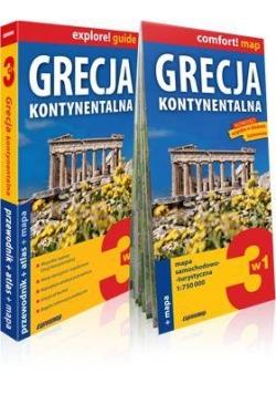 Explore!guide Grecja kontynentalna 3w1 Przewodnik