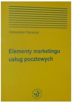 Elementy marketingu usług pocztowych