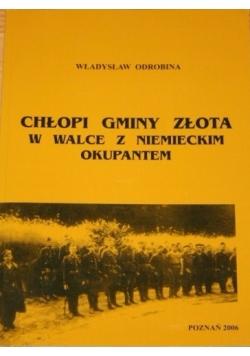 Chłopki gminy złota w walce z niemieckim okupantem