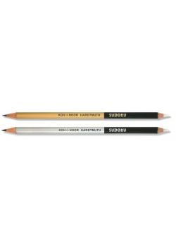 Ołówek z gumką Sudoku 2B (36szt) KOH-I-NOOR