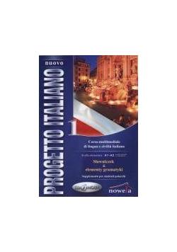 Progetto Italiano Nuovo 1 słowniczek+gramatyka