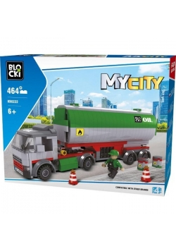 Klocki Blocki MyCity Cysterna 464 el.