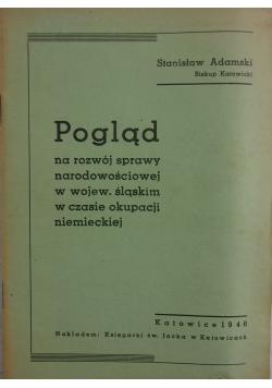 Pogląd na rozwój sprawy narodowościowej, 1946r