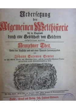 Algemeinen Belfbiftorie, 1759 r.