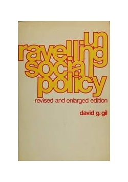 Unravelling Social Policy