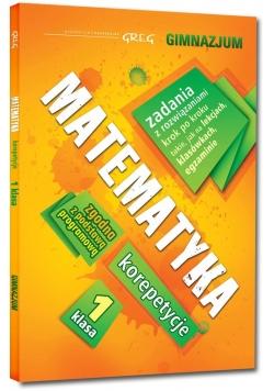 Matematyka 1 korepetycje