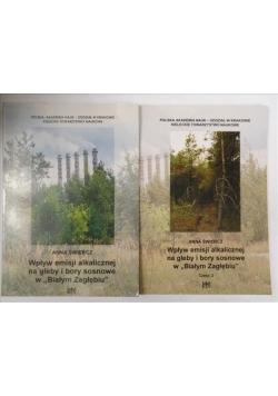 """Wpływ emisji alkalicznej na gleby i bory sosnowe w """"Białym Zagłębiu"""" cz. 1, 2"""