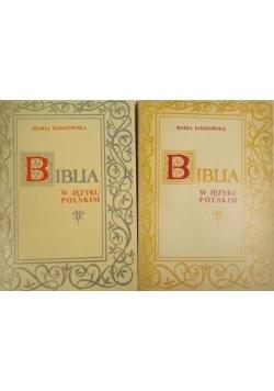 Biblia w języku polskim, Tom I-II
