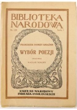 Wybór poezji, 1948r.