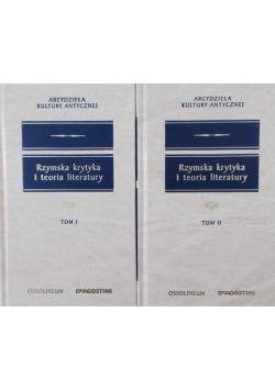 Rzymska krytyka i teoria literatury , tom I-II