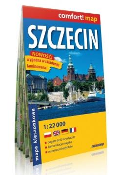 Szczecin mapa kieszonkowa 1:22 000