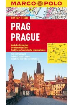Plan Miasta Marco Polo. Praga