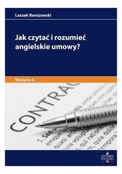 Jak czytać i rozumieć angielskie umowy? w.6