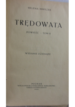 Trędowata, TomII - 1922r
