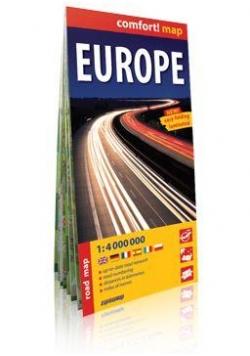 Comfort!map Europa 1:4 000 000 mapa