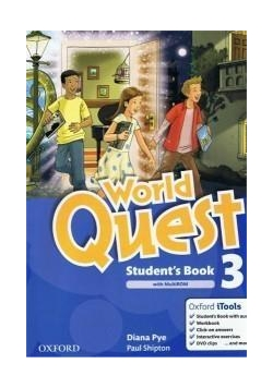 World Quest 3 SB Pack OXFORD