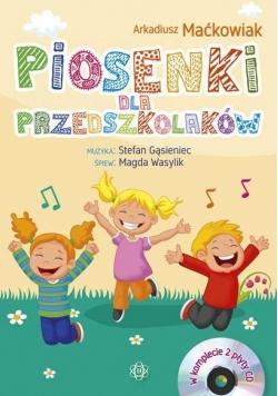 Piosenki dla przedszkolaków +2CD (kpl)