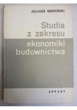 Studia z zakresu ekonomiki budownictwa