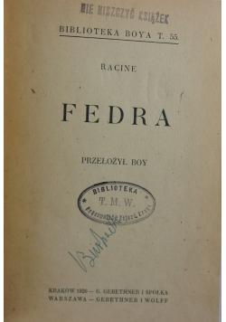 Racine Fedra, 1920 r.