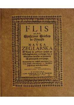 Flis albo spuszczenie statków do Gdańska