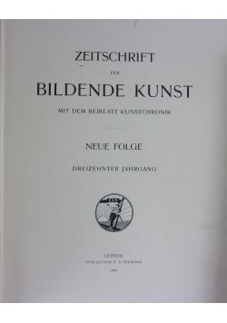 Zitschrift fur Bildende Kunst,1902r.