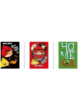 Notes A7 Angry Birds (30szt) DERFORM