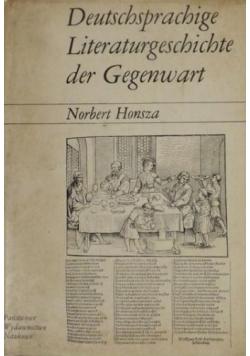 Deutschsprachige Literaturgeschichte der Gegenwart