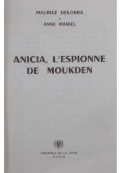 ANICIA, L'ESPIONNE DE MOUKDEN