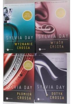 Dotyk Crossa, zestaw 4 książek