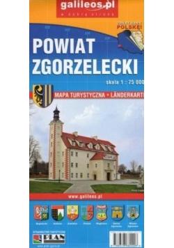 Mapa - Powiat Zgorzelecki/Gorlitz, Zgorzelec