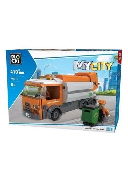Klocki BLOCKI - MyCity Śmieciarka 410 elementów