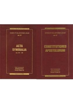 Źródła myśli teologicznej Acta synodalia/Constitutiones apostolorum.
