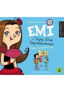 Emi i Tajny Klub Superdz. T.2. Kółko hiszp. CD MP3