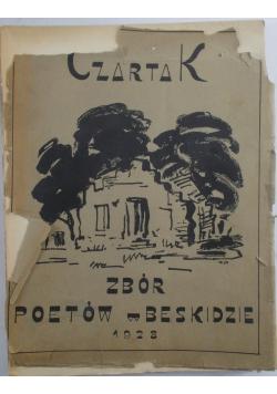 Czartak . Zbór poetów w Beskidzie, 1928 r., UNIKAT